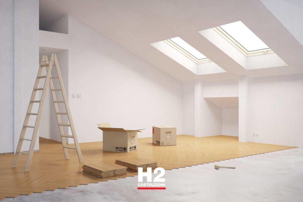 Sistemare casa appena comprata per affitto/vendita