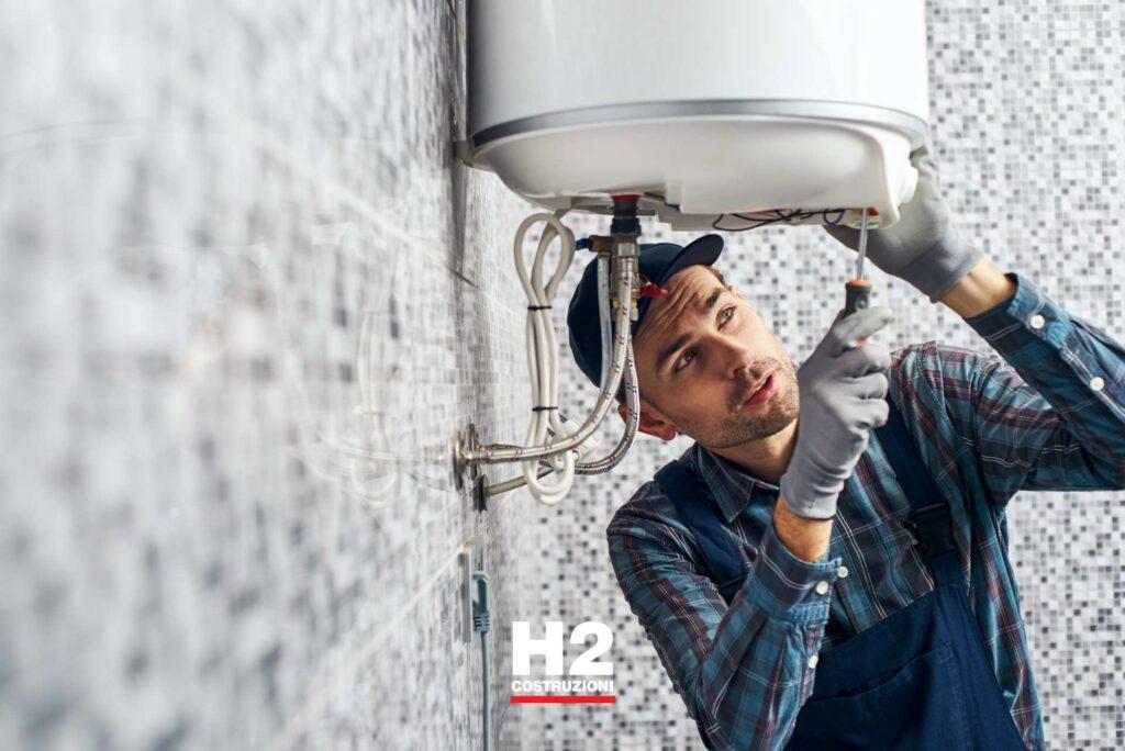 Ristrutturazione impianto termoidraulico