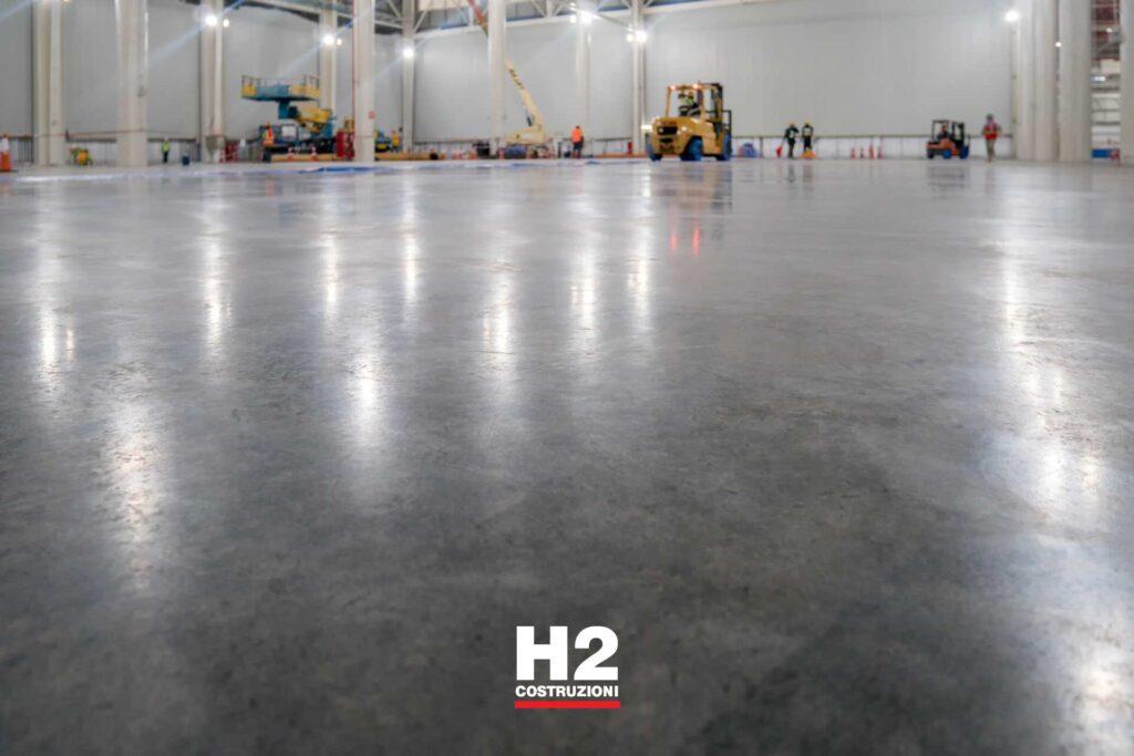 Capannoni immobili - manutenzione pavimentazione