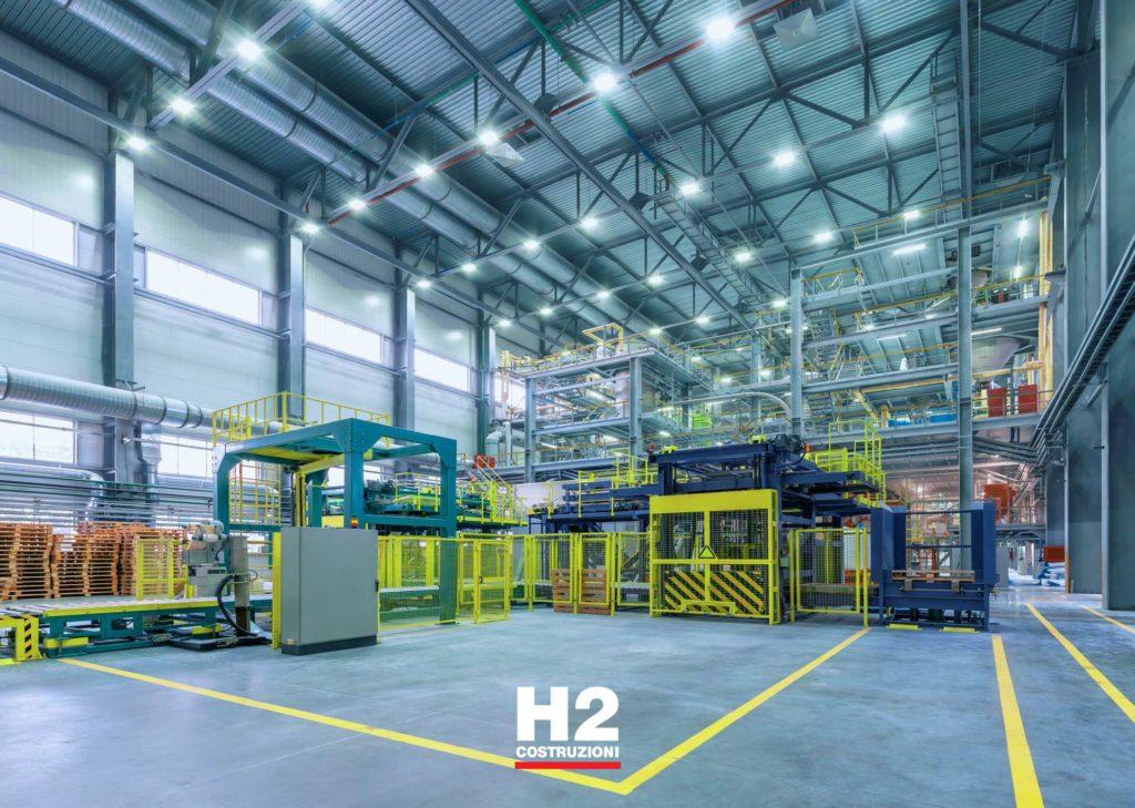 Manutenzione capannoni, fabbriche, officine, laboratori