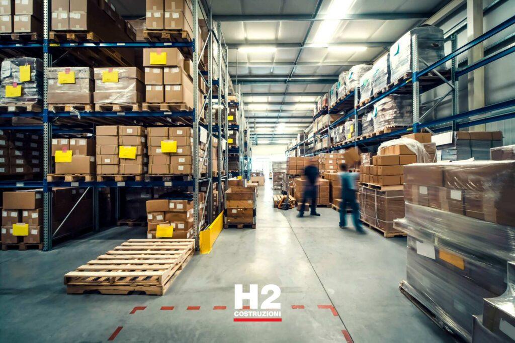 Ristrutturazione / manutenzione di una fabbrica o capannone