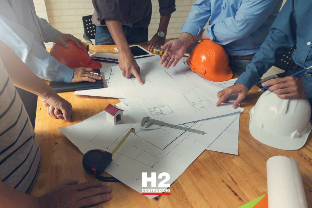 Contattare gli uffici di H2 Costruzioni