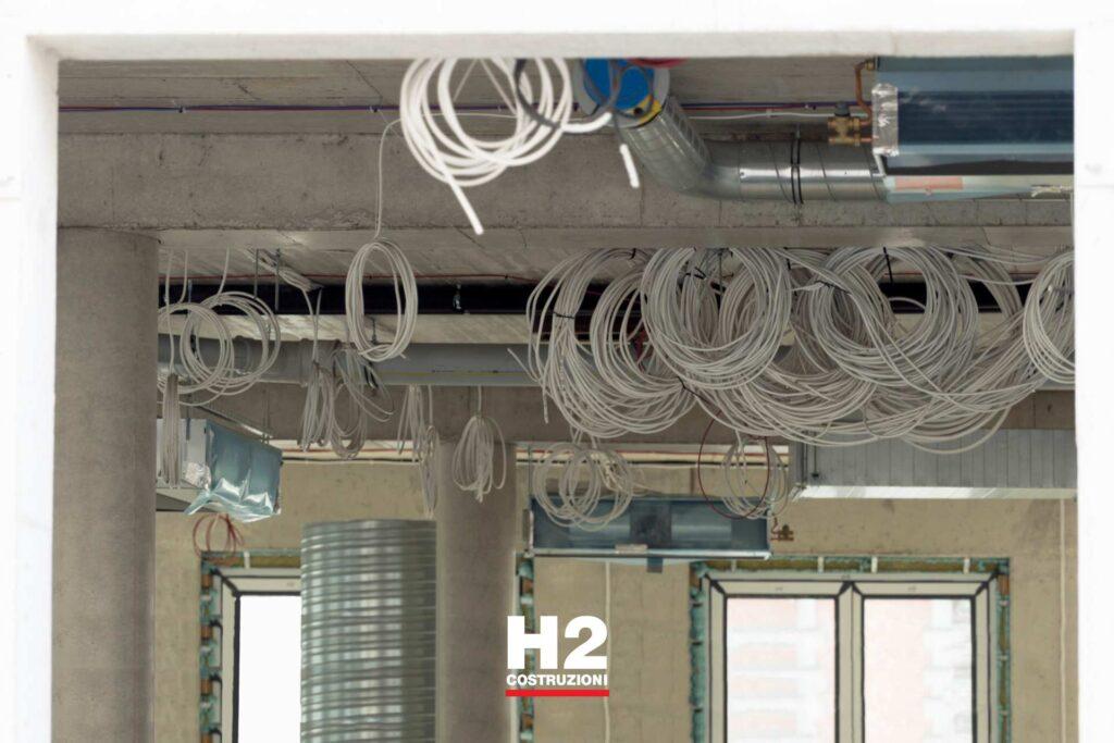 Studi uffici - impianto elettrico