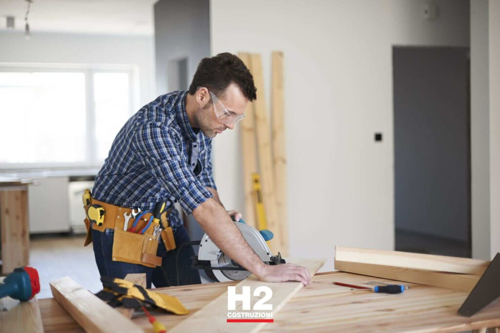 Ristrutturazione appartamenti - adattamento dei mobili