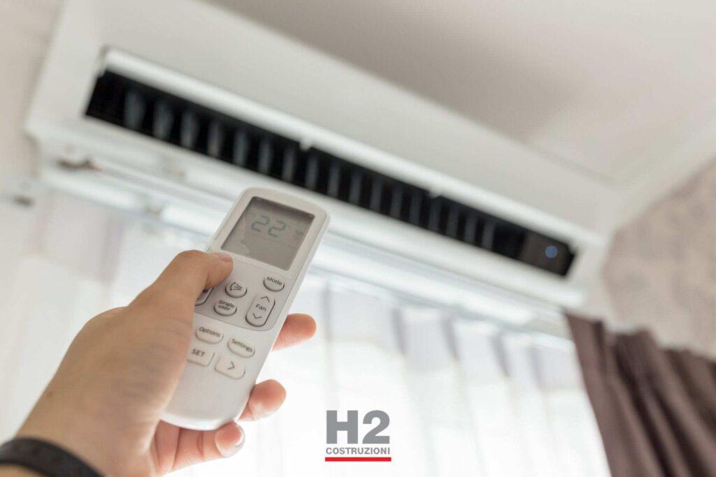Ristrutturazione appartamenti - climatizzatore
