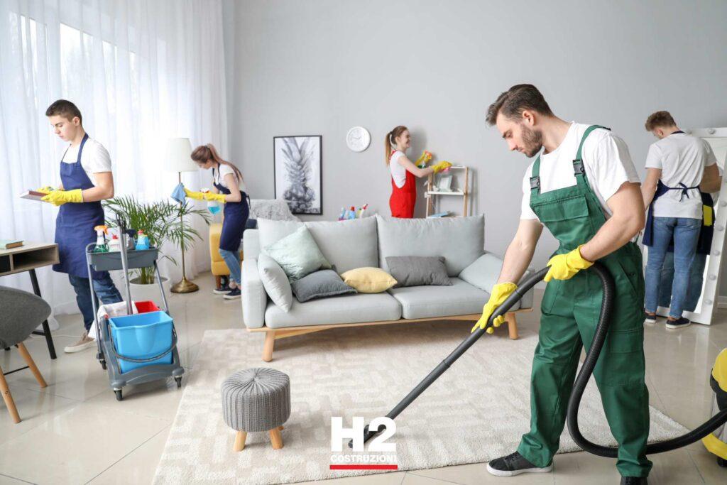 Ristrutturazione appartamento - pulizie di fino