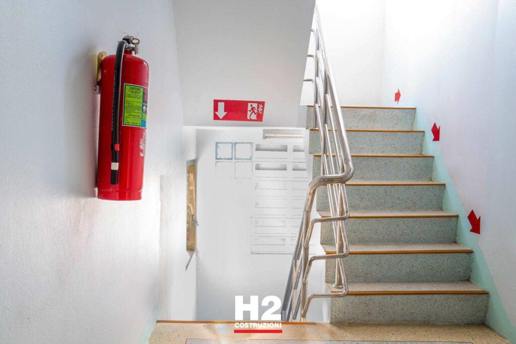 Manutenzione capannoni immobili - prevenzione antincendio